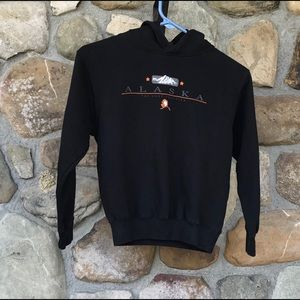 Kids Alaska hooded sweatshirt